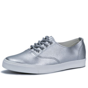 Casual Silver Flats