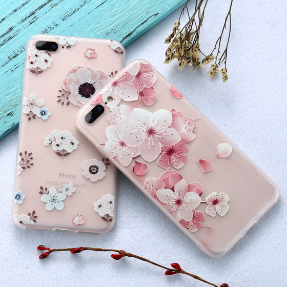 Etui iPhone Floral