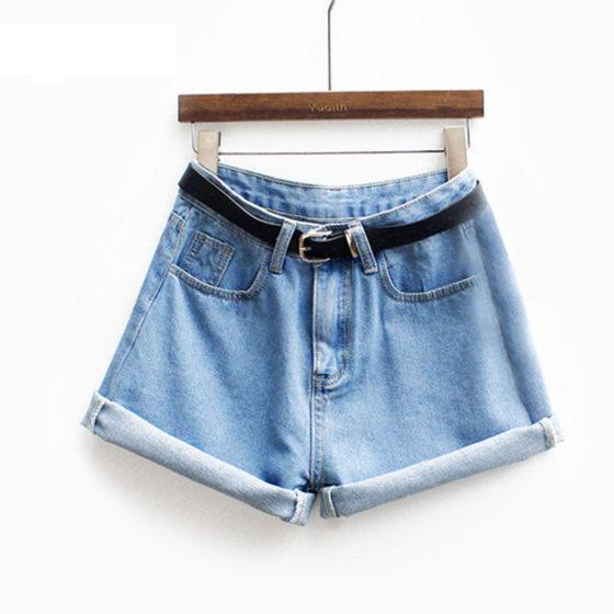 Jeansowe shorty