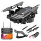czarny dron z kamerą 4K