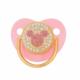 różowy smoczek elegancki