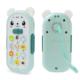 niebieski interaktywny telefon zabawka dla dzieci